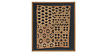 African Rectangular Kuba Cloth
