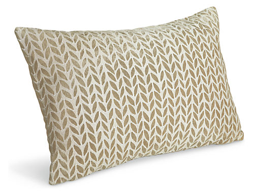 Willow modern accent pillows modern accent pillows for Room and board pillows