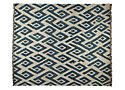 "Shoowa 8'9""x11'6"" Rug in Indigo"