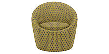 Celeste Swivel Chair in Sera Maize