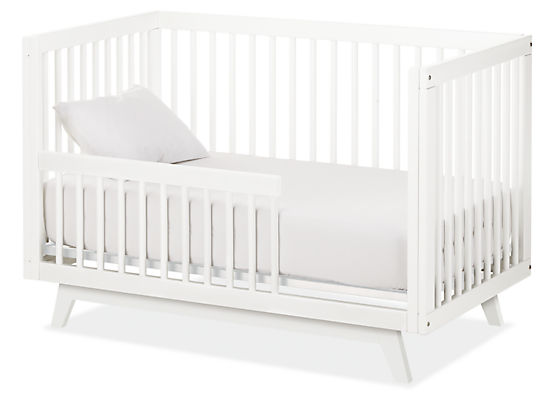 Flynn Crib To Toddler Bed Modern Cribs Amp Changing Trays