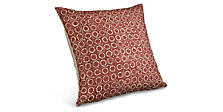 Port 22w 22h Throw Pillow in Garnet