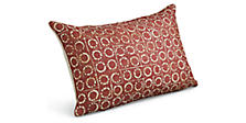 Port 20w 13h Throw Pillow in Garnet
