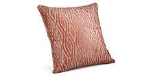 Itza 18w 18h Throw Pillow in Mandarin
