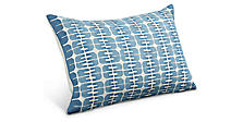Reflection 20w 13h Pillow in Indigo