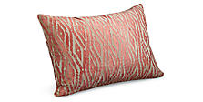 Itza 20w 13h Throw Pillow in Mandarin