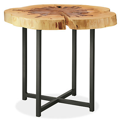 allard end tables in natural steel - modern end tables - modern