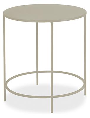 slim round end tables in colors modern end tables. Black Bedroom Furniture Sets. Home Design Ideas