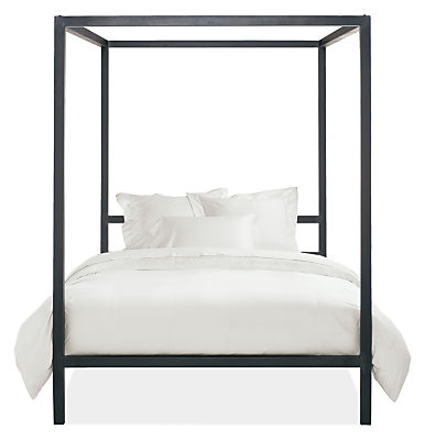 Architecture canopy bed modern beds platform beds modern bedroom furniture room board - Contemporary canopy bed for a royal room ...