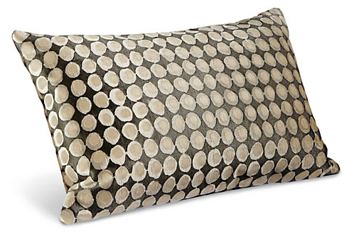 Dot modern throw pillows modern patterned throw pillows for Room and board pillows