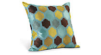 Trellis Teal Pillow