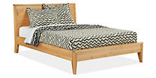 Jacquard Wool Zig-Zag King Blanket in Ivory/Charcoal