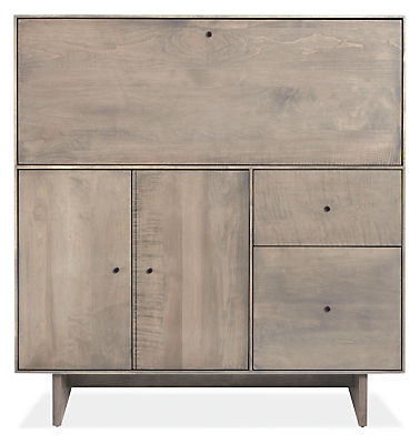 hudson modern office armoire with wood base modern desks tables modern office furniture room board armoire office