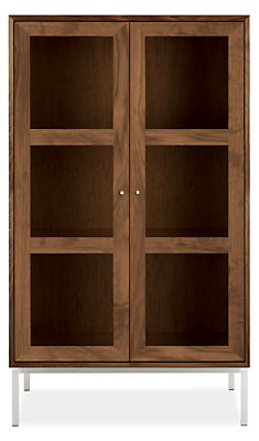 Delano Glass Door Cabinet Cabinets Armoires Living Room Board