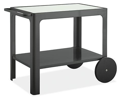 Crescent Indoor-Outdoor Bar Cart - Modern Outdoor Dining - Modern ...