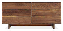 Hudson Dressers with Wood Base