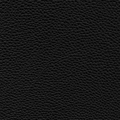 urbino black leather swatch