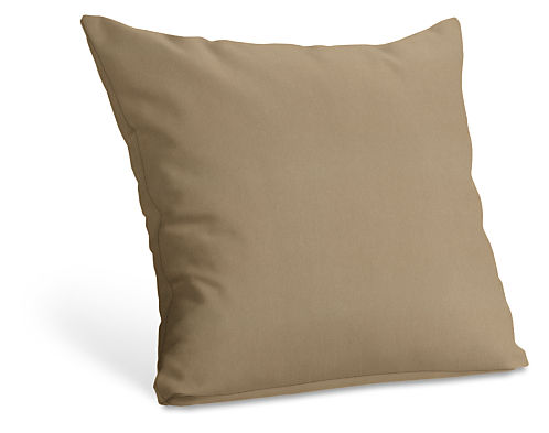 Custom knife edge pillow modern custom accent pillows for Room and board pillows