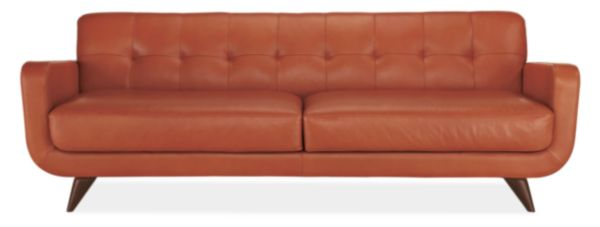 The Burban Cookie Ode To Thee Mid Century Black Sofa