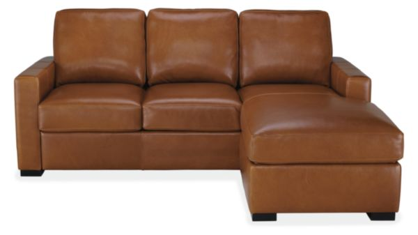 Berin Leather Day & Night Sleeper Sofas with Chaise