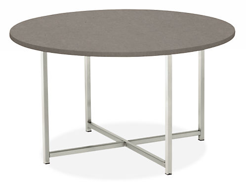 Classic Cocktail Tables in Stainless Steel - Modern Cocktail & Coffee Tables  - Modern Living Room Furniture - Room & Board - Classic Cocktail Tables In Stainless Steel - Modern Cocktail