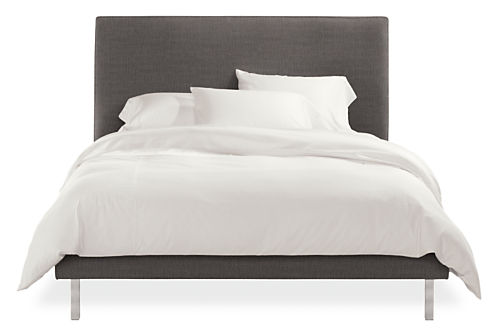 ella upholstered bed ella bed in tatum fabric modern bedroom furniture room board