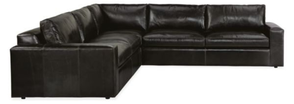 Harding Leather Sectionals