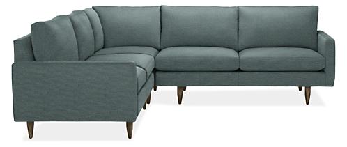 jasper sectional modern sectionals modern living room. Black Bedroom Furniture Sets. Home Design Ideas