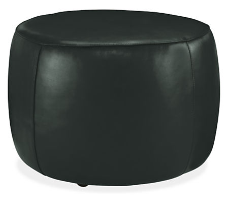Lind Round Leather Ottomans Ottomans Living Room Amp Board