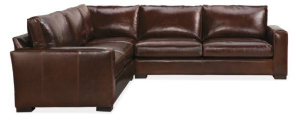 Metro Leather Sectionals