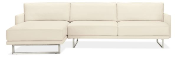 Odin Leather Sofas with Chaise
