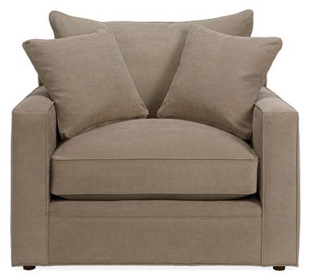 Orson Chair & Ottoman - Modern Accent & Lounge Chairs - Modern
