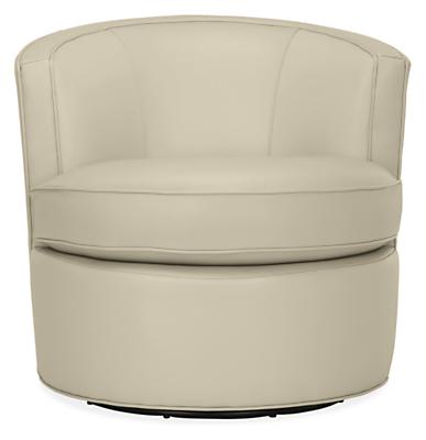 Otis Swivel Chair in Urbino Leather   Modern Accent   Lounge   Otis Swivel Chair in Urbino Leather   Modern Accent   Lounge Chairs    Modern Living Room Furniture   Room   Board. Large Swivel Chairs Living Room. Home Design Ideas