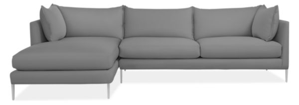 Palm Sofa with Chaise