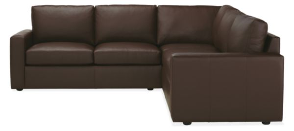 Taft Leather Sectional