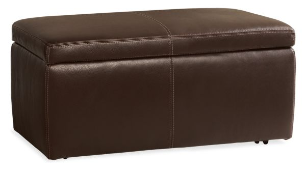 Sale alerts for  Tyler Leather Storage Ottomans - Covvet