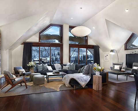 Solaris Residences offers luxury vacation rentals in the heart of Vail, Colorado. Sharon Cohn, director of design and construction for Solaris, has furnished nearly 50 residences with Room & Board furniture and accessories.