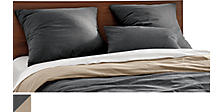 Brockway Flannel Duvet Cover & Shams