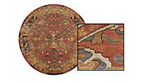Kayseri Round Rugs by the Inch
