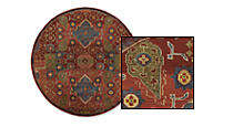 Medici Round Rugs by the Inch