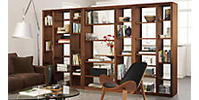 Woodwind Bookcases By the Inch, Open Back
