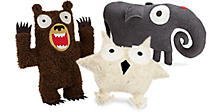 Indy Plush Animal Pillows