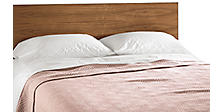 Norwich Blankets in Blush/Ivory