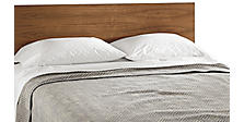Norwich Blankets in Grey/Ivory