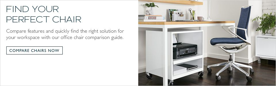 Compare features and quickly find the right solution for your workspace with our office chair comparison guide.
