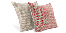 Modern patterned accent pillows modern home accessories for Room and board pillows