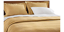 Wickland Duvet Cover and Shams in Saffron
