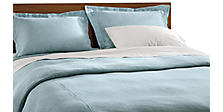 Wickland Duvet Cover & Shams in Sky