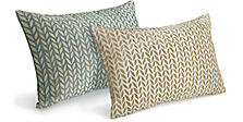 Modern patterned throw pillows modern home decor room for Room and board pillows
