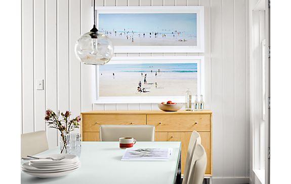 Le beuan benic wall art plage i iii modern home decor room board - Decor plage ...